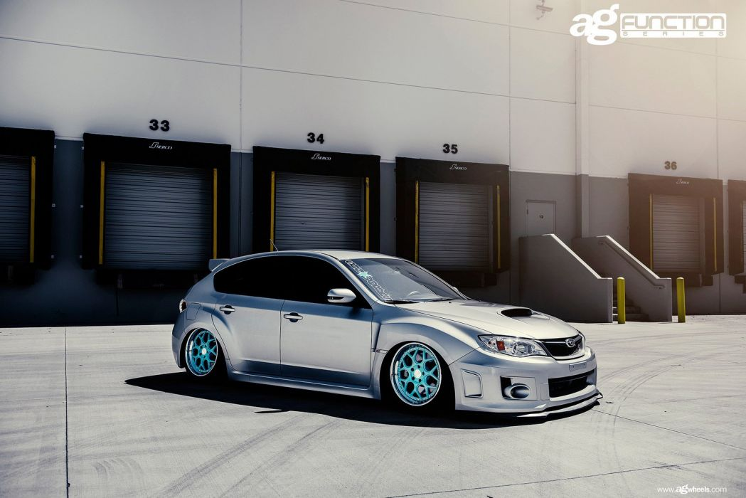 subaru sti wagon cars wallpaper