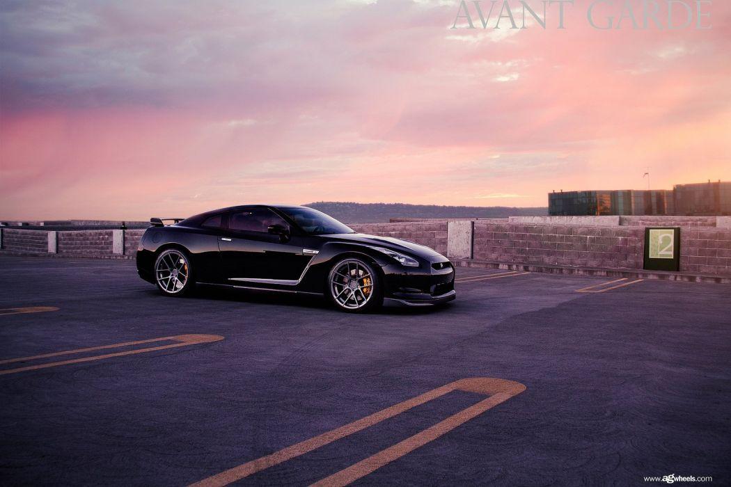 nissan r35 gtr coupe cars black godzilla wallpaper