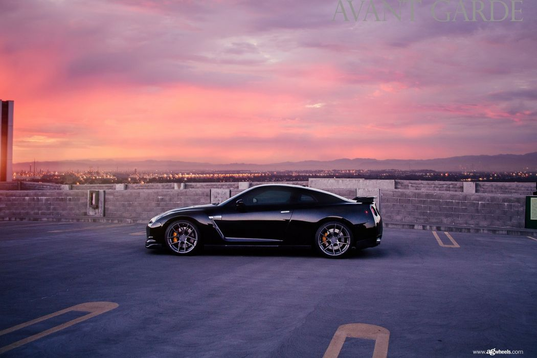 nissan r35 gtr coupe cars black godzilla wallpaper