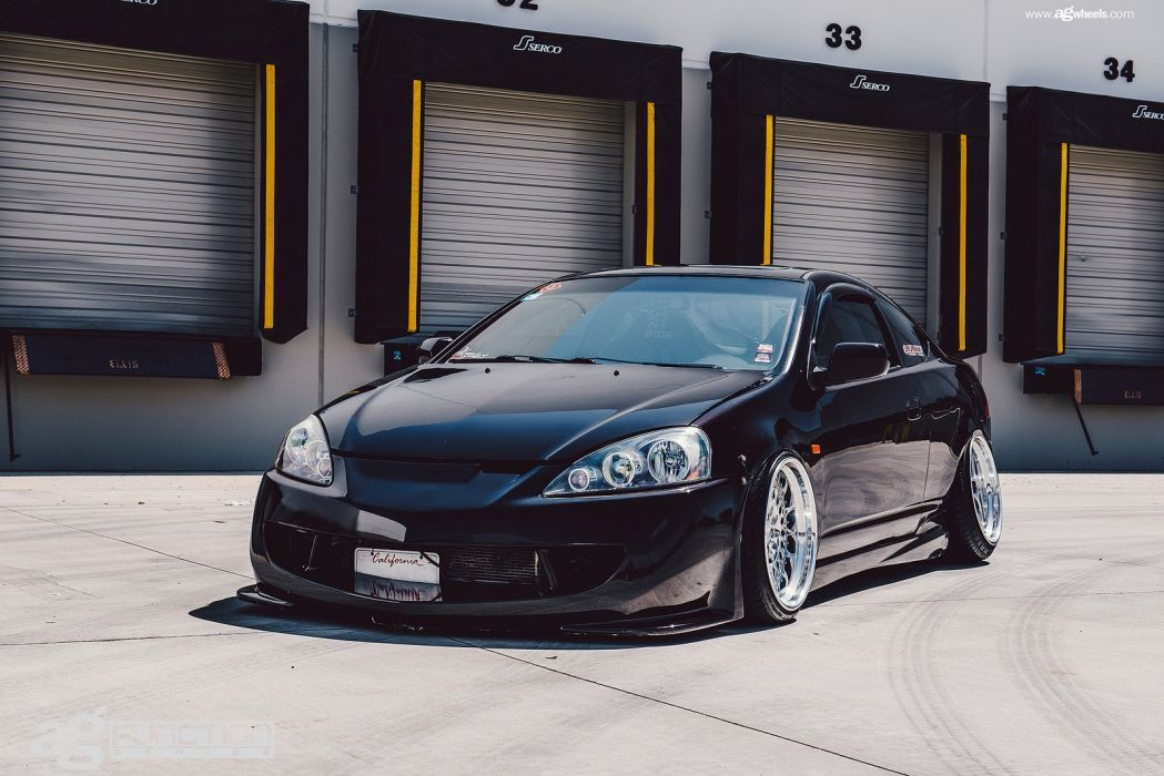 acura rsx coupe cars black wallpaper