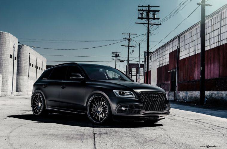 audi q5 suv cars black wallpaper