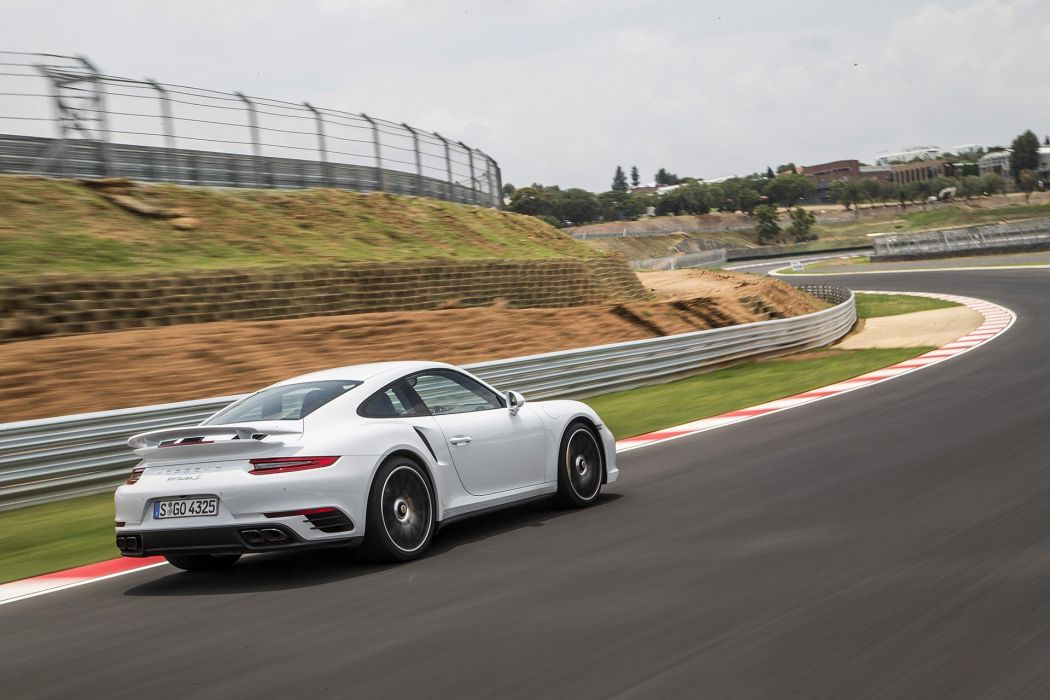 2016 Porsche 911 Turbo cars coupe white wallpaper