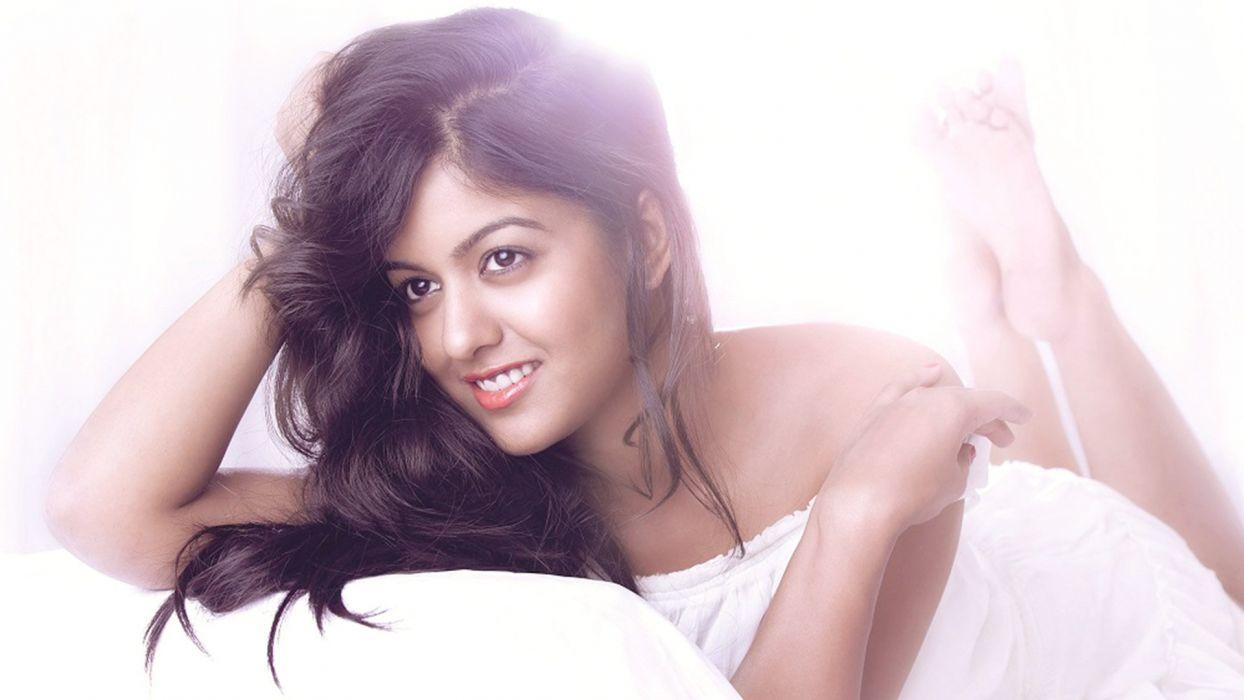 Ishita Dutta bollywood actress model girl beautiful brunette pretty cute beauty sexy hot pose face eyes hair lips smile figure indian  wallpaper