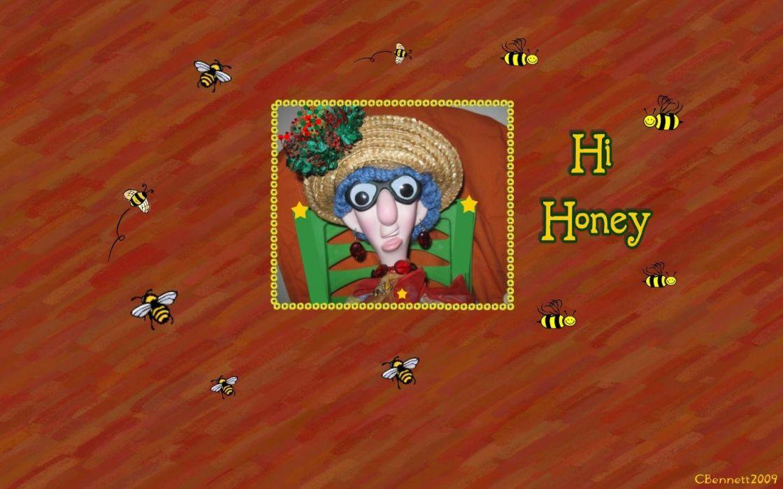 Hi Honey wallpaper