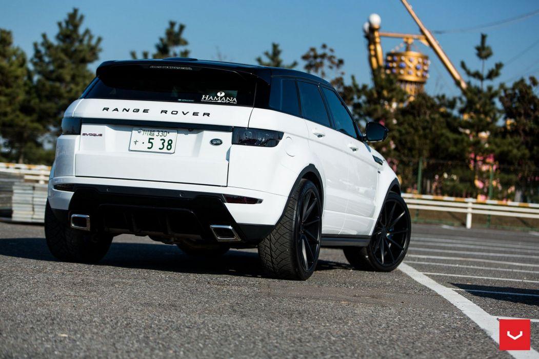 Range Rover Evoque Vossen wheels cars white wallpaper