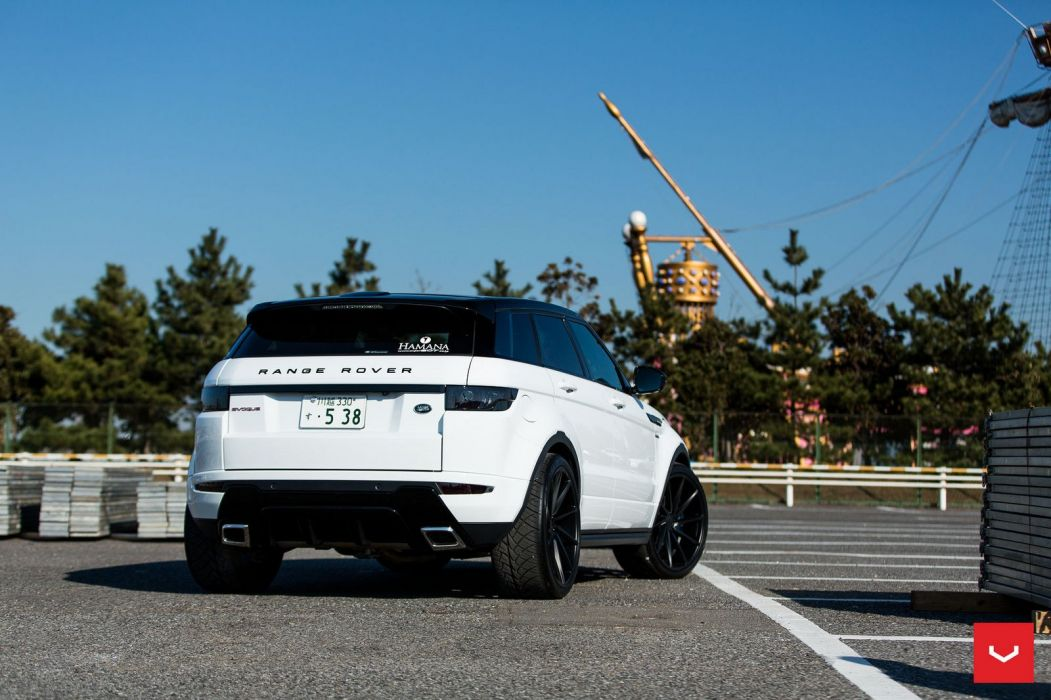 Range Rover Evoque Vossen wheels cars white wallpaper