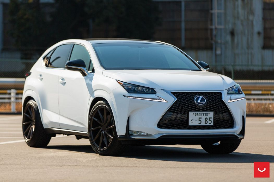 Lexus NX 200t Vossen wheels cars suv white wallpaper