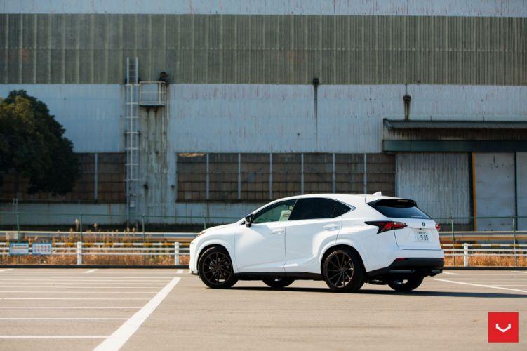 Lexus NX 200t Vossen wheels cars suv white wallpaper
