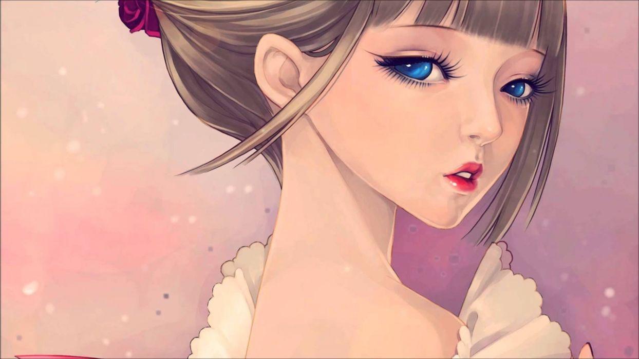 chica manga anime wallpaper