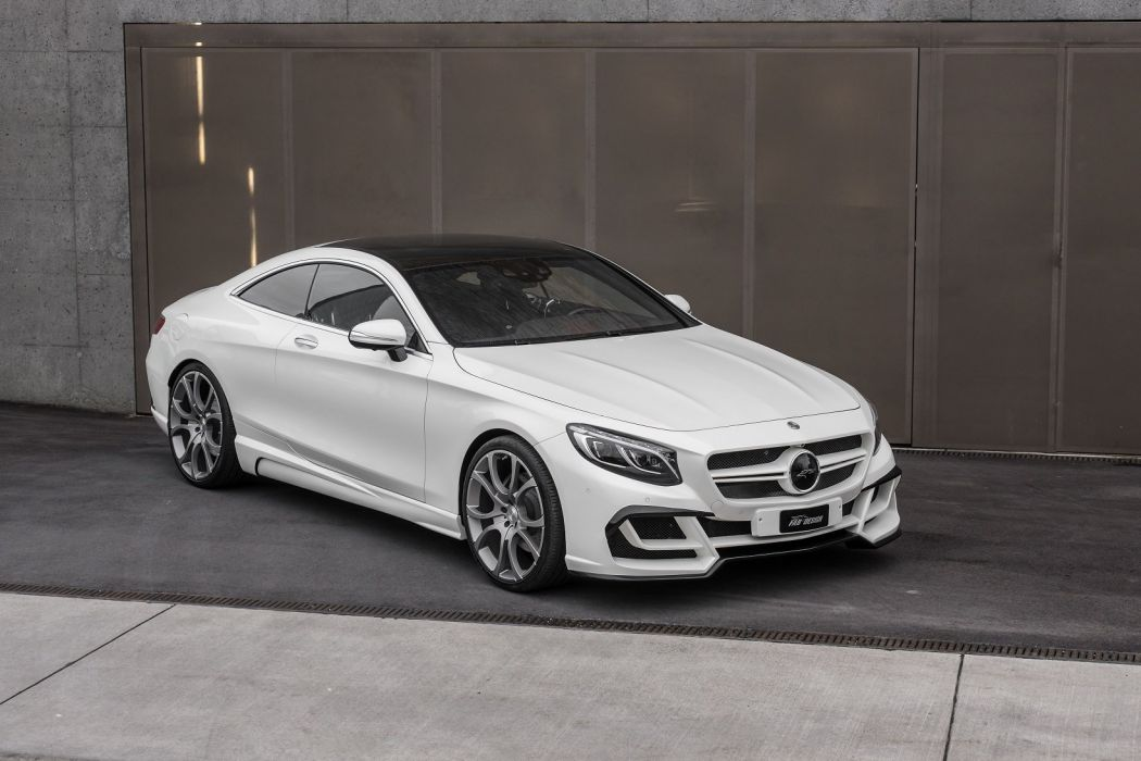 FAB Design Mercedes Benz S-class modified Ethon (C217) cars coupe white 2016 wallpaper