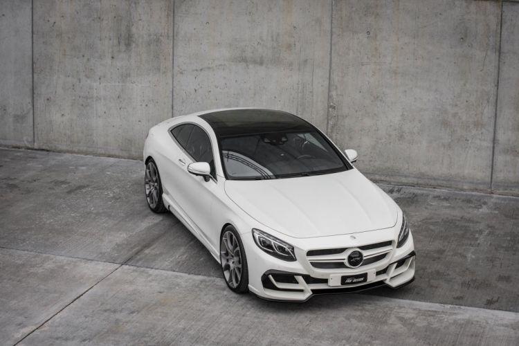 FAB Design Mercedes Benz S-class modified Ethon (C217) cars coupe white 2016 wallpaper