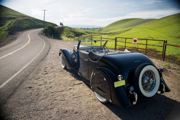Bugatti Type 57 Stelvio Cabriolet cars retro classic 1936 wallpaper