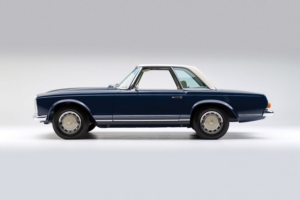 Mercedes Benz 280 SL Worldwide (W113) 1968 retro classic wallpaper