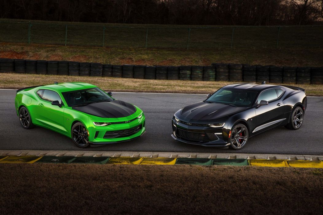 Chevrolet Camaro 1LE cars coupe 2016 wallpaper