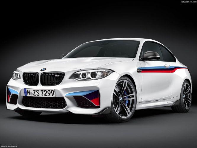 BMW M2 Coupe M Performance Parts cars 2016 wallpaper