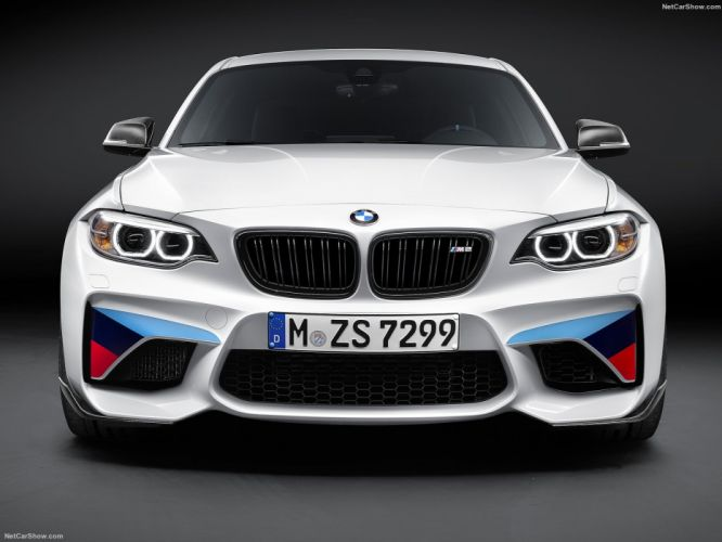 BMW M2 Coupe M Performance Parts cars 2016 wallpaper