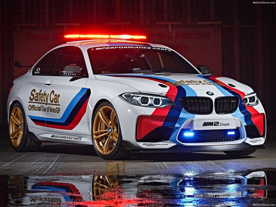 BMW M2 MotoGP Safety Car 2016 wallpaper