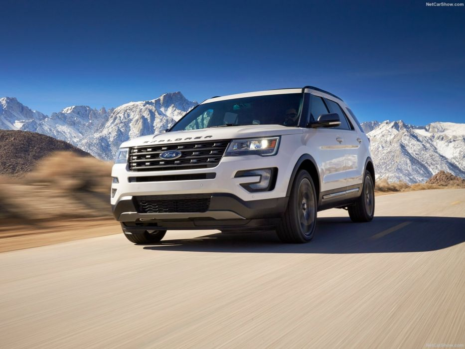 Ford Explorer XLT Sport Appearance Package Car suv 2016 wallpaper