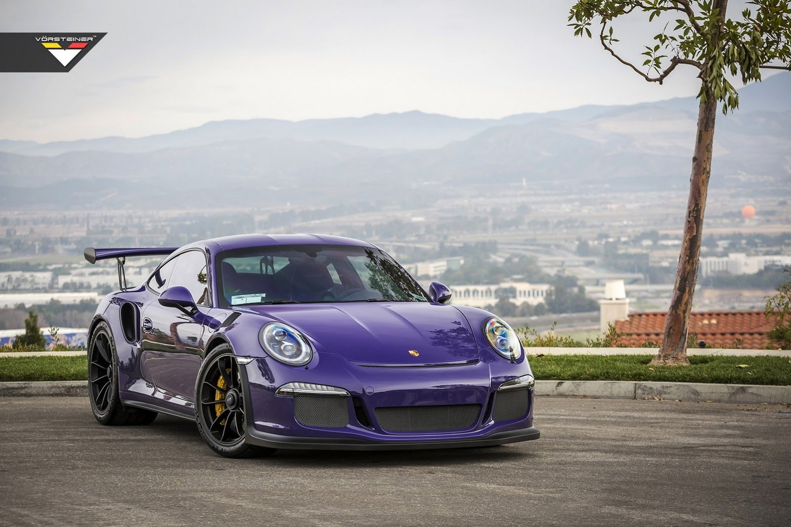 purple vorsteiner porsche 911 gt3 rs cars modified. Black Bedroom Furniture Sets. Home Design Ideas