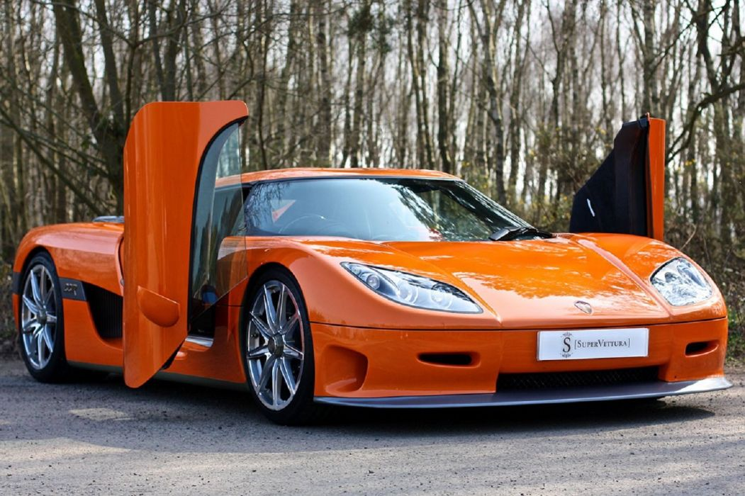 2007 Koenigsegg CCX cars orange supercars wallpaper