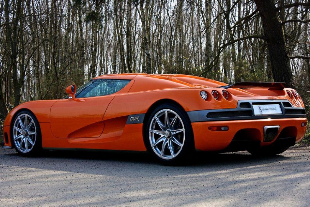 2007 Koenigsegg CCX cars orange supercars wallpaper