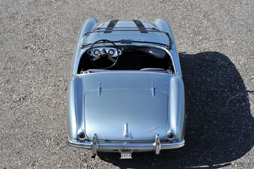 Austin Healey 100 (BN1) cars classic roadster 1953 wallpaper