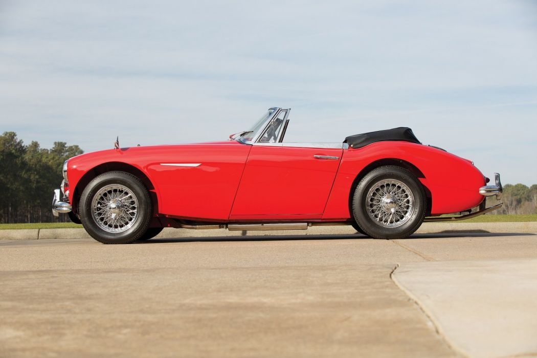 Austin Healey 3000 BJ7 (MkII) red cars classic roadster 1932 wallpaper