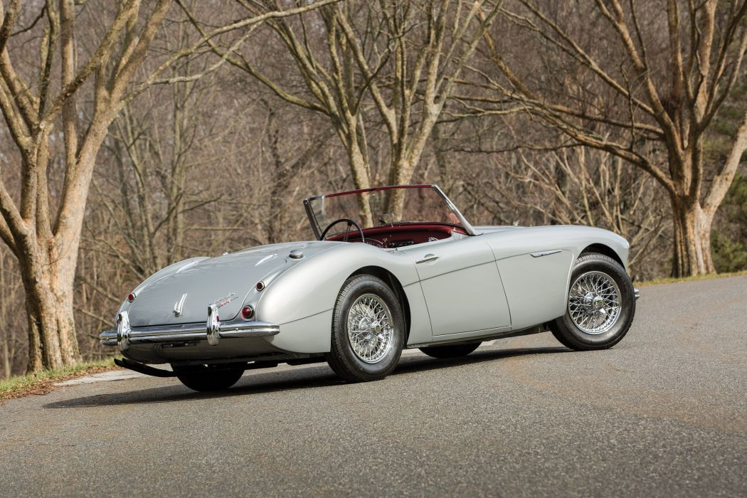 Austin Healey 3000 NB7 (MkI) cars classic roadster 1959 wallpaper