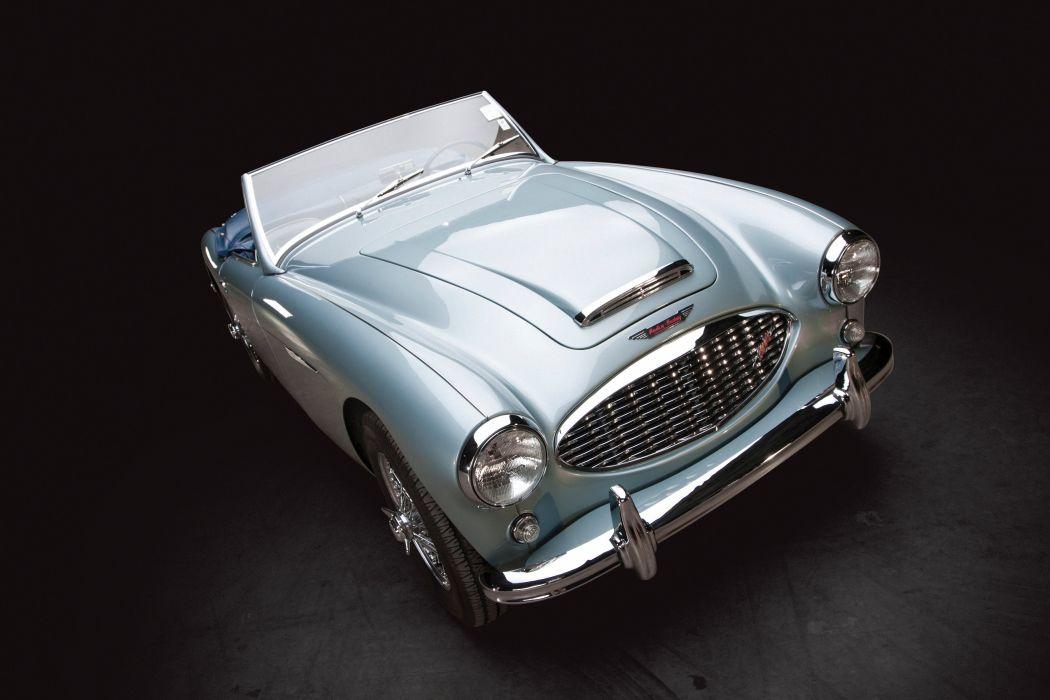 Austin Healey 3000 NB7 (MkI) cars classic roadster 1959 wallpaper