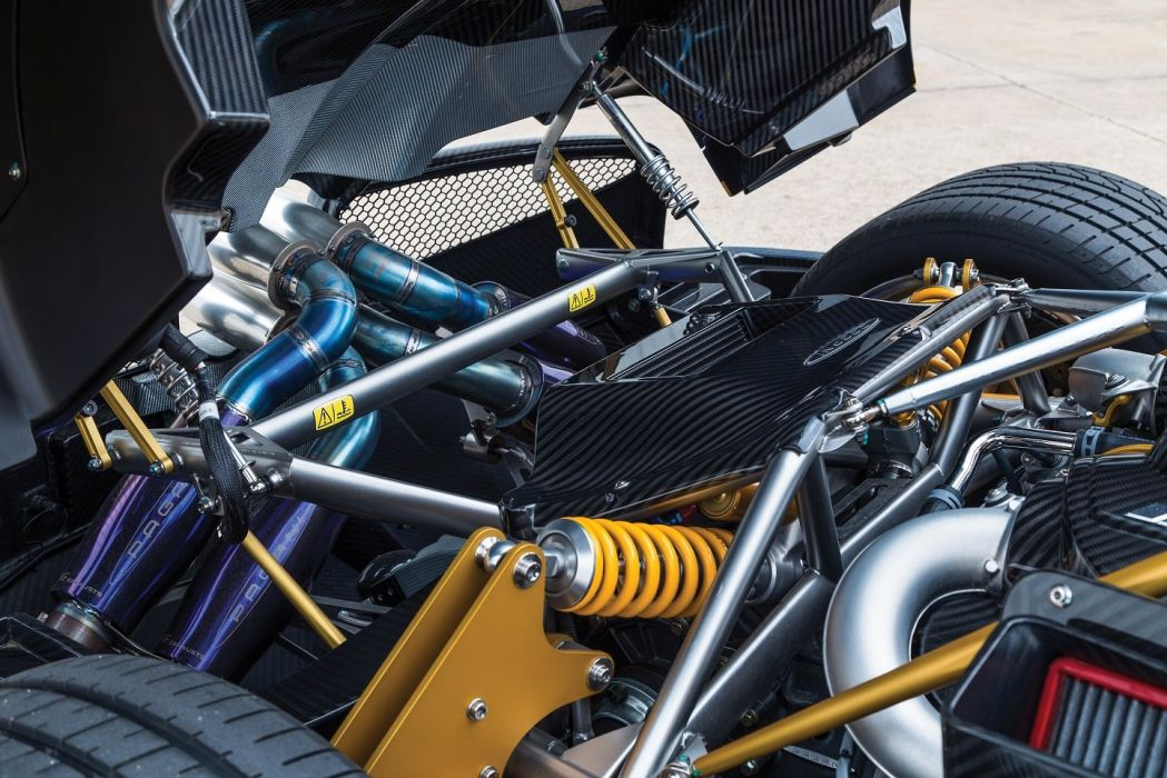 Pagani Huayra US-spec cars supercars blue 2013 wallpaper