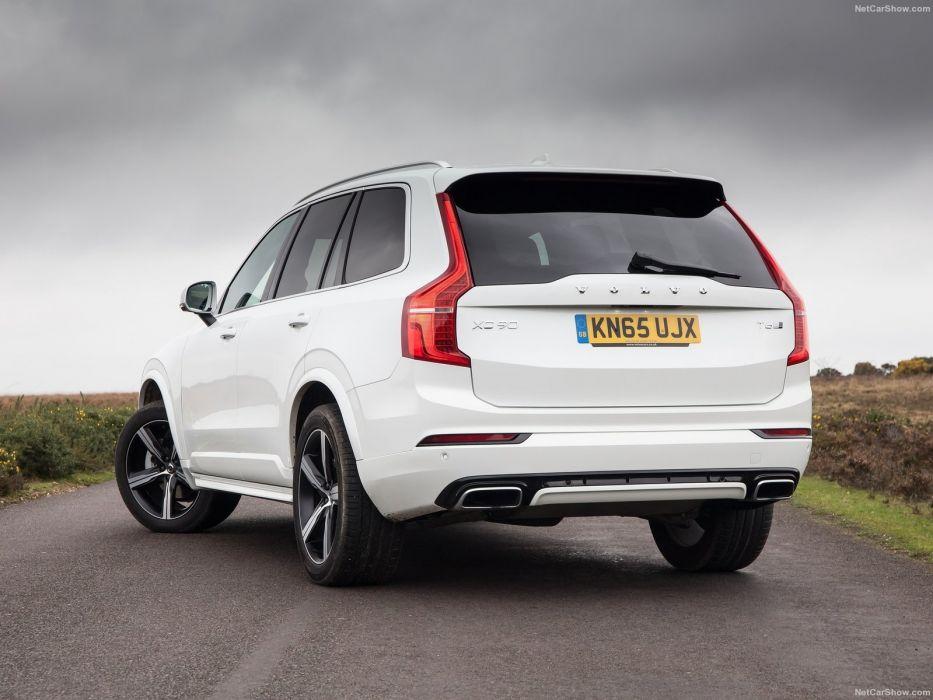 Volvo XC90 R-Design cars suv white wallpaper