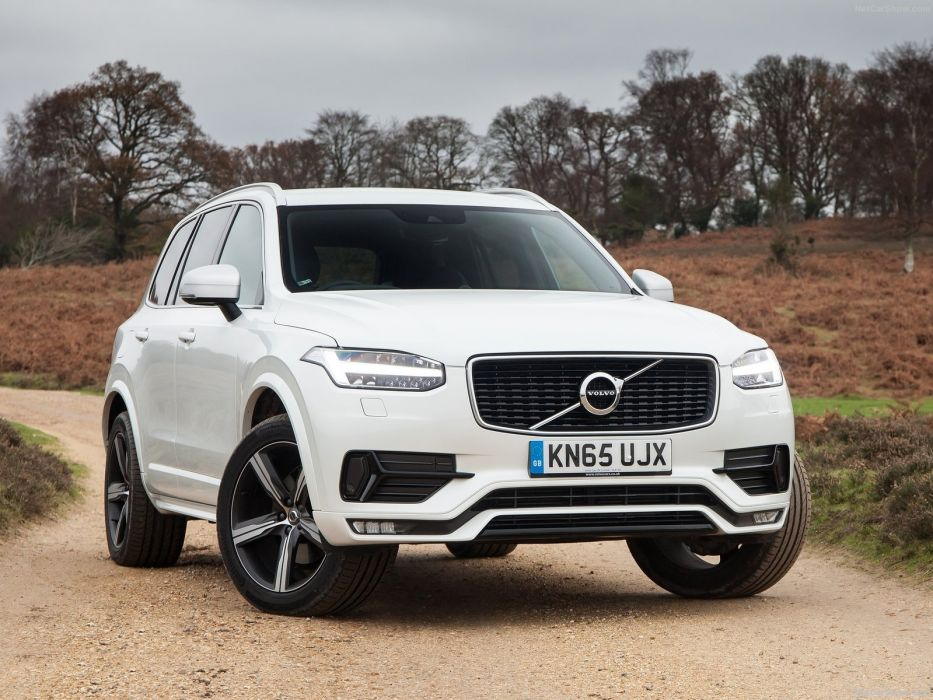 Volvo XC90 R-Design cars suv white wallpaper