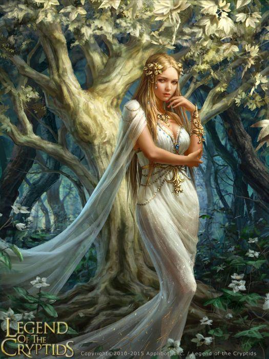 fantasy girl woman beauty beautiful tree princess dress blonde wallpaper