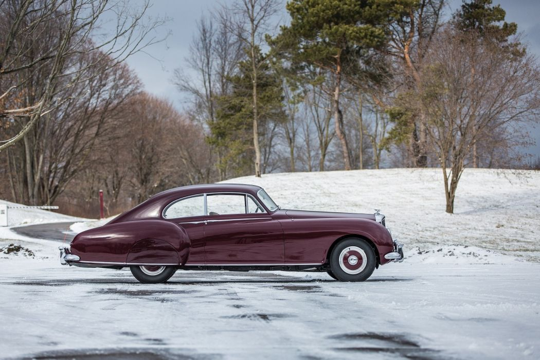 Bentley R-Type Continental Sports Saloon (LHD) cars classic 1953 wallpaper