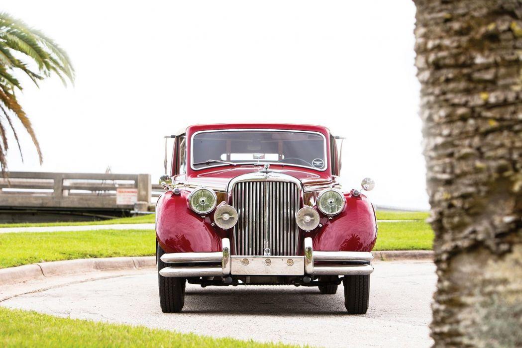 Jaguar Mark V 3 demi Litre Drophead DAoupe cars classic 1949 wallpaper