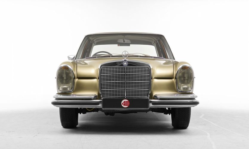 Mercedes Benz 280 SE UK-spec automatic (W108) cars classic 1967 wallpaper