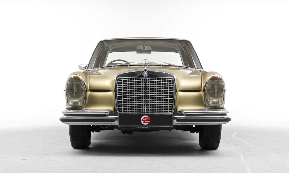 Mercedes Benz 280 SE UK-spec automatic (W108) cars classic 1967 wallpaper