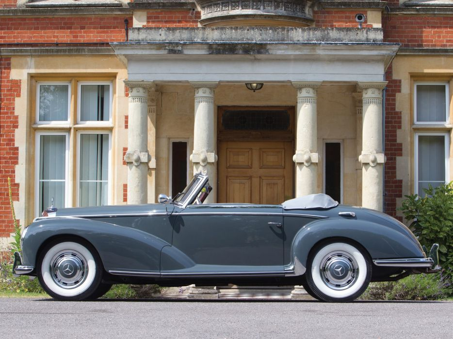 Mercedes Benz 300 S Roadster (W188) cars classic 1952 wallpaper