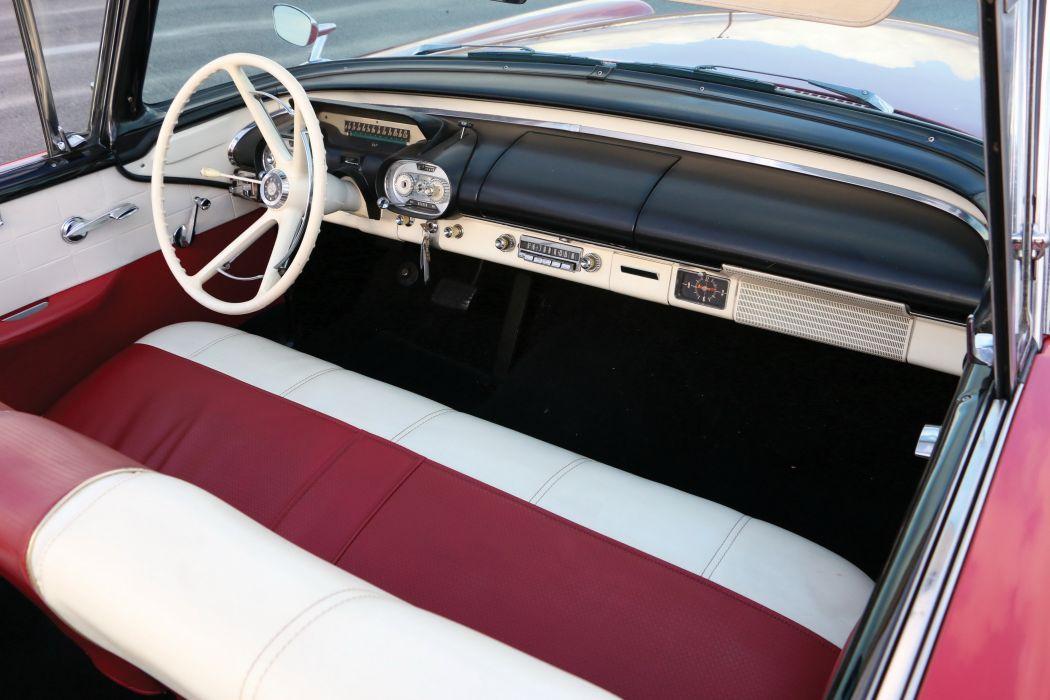 Monarch Lucerne Convertible cars classic 1957 wallpaper
