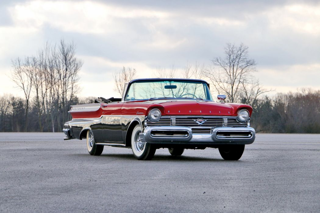 Monarch Lucerne Convertible cars classic 1957 wallpaper