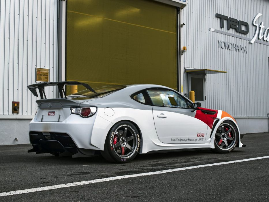 Toyota GT 86 TRD Griffon Concept cars 2008 wallpaper