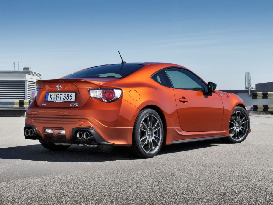 Toyota GT 86 TRD cars 2012 wallpaper