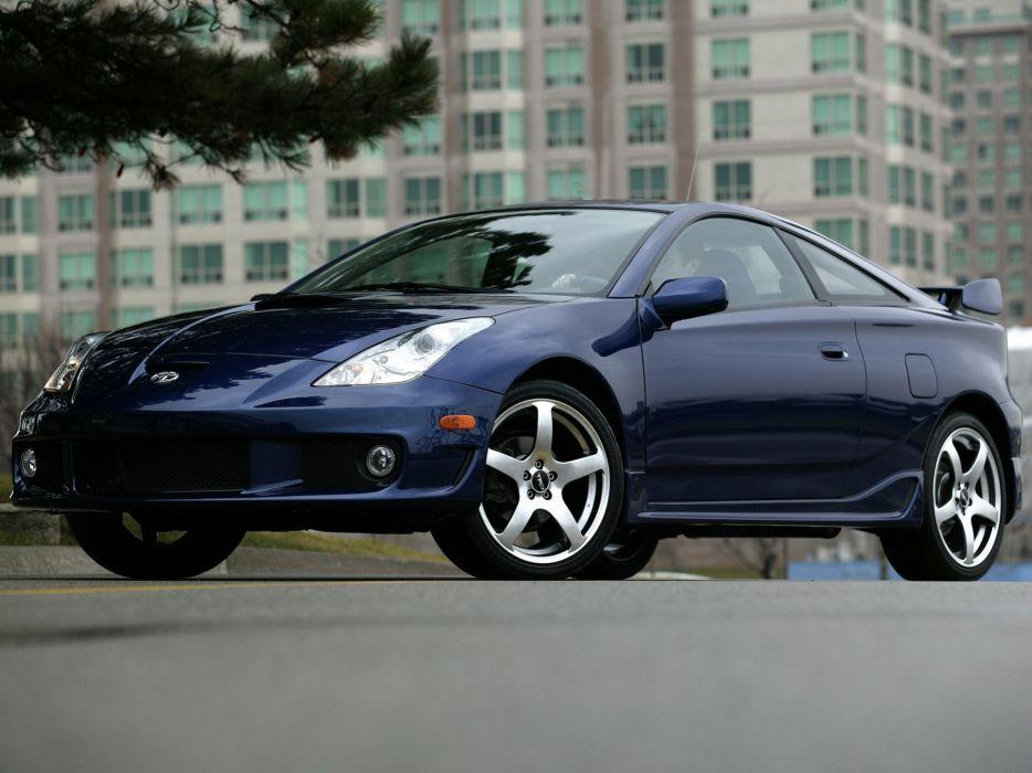 TRD Toyota Celica GT-S Tsunami cars 2004 wallpaper