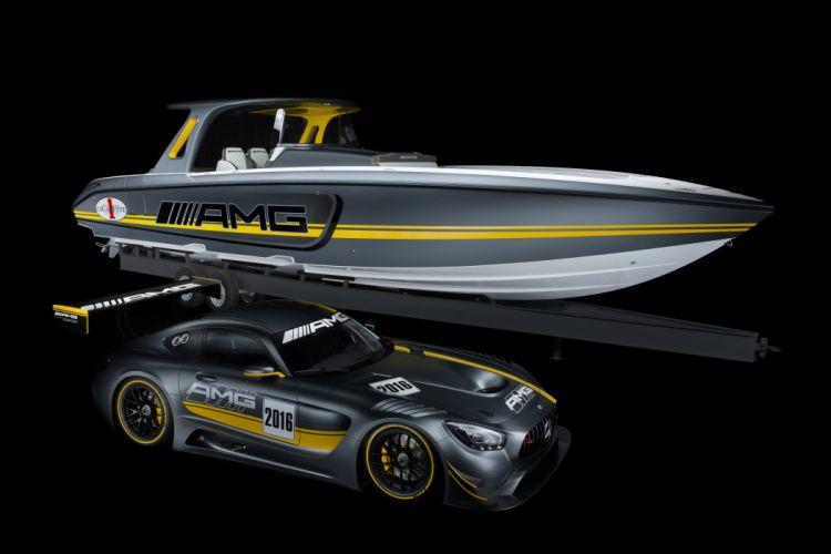Mercedes AMG GT3 (C190) cars racecars 2015 wallpaper