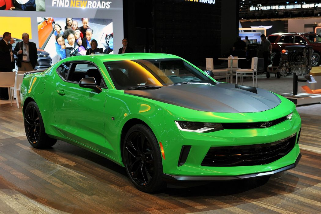 1le 2016 camaro cars Chevrolet Coupe wallpaper