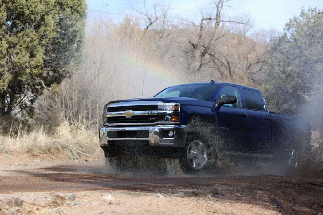 2016 Chevrolet Silverado 2500 HD cars truck pickup wallpaper