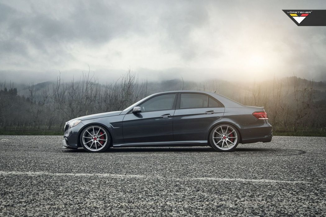 Vorsteiner Mercedes E63 AMG Aero Package cars modified wallpaper