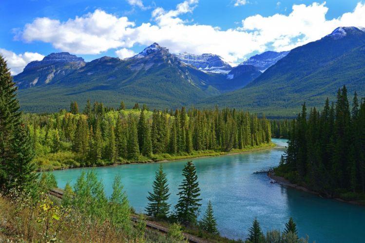 nature river landscape wallpaper