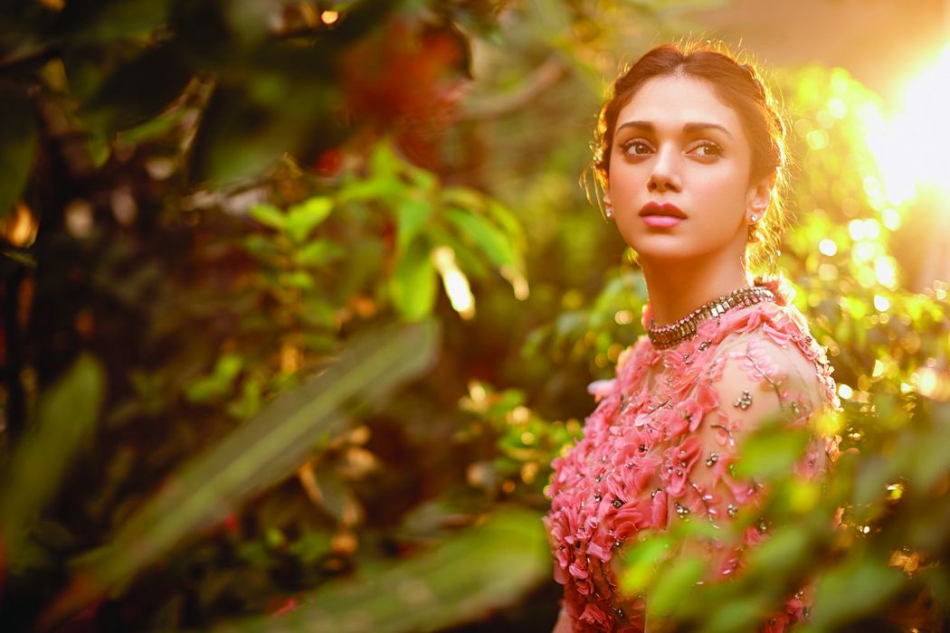 Aditi Rao Hydari bollywood actress model girl beautiful brunette pretty cute beauty sexy hot pose face eyes hair lips smile figure indian  wallpaper
