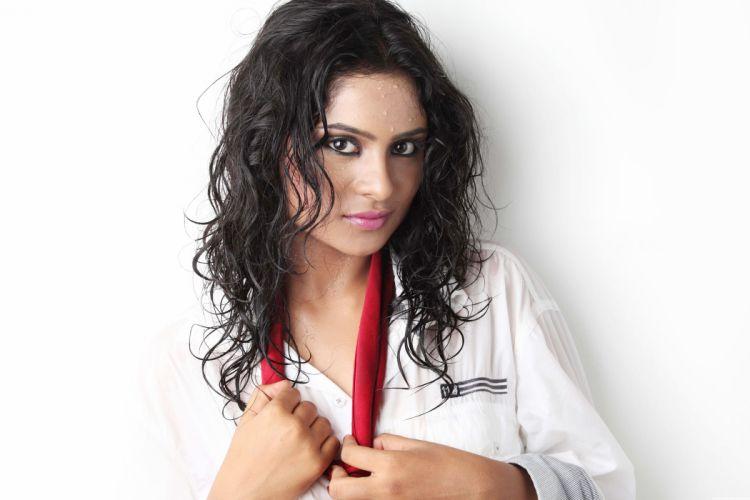 Deepika Das bollywood actress model girl beautiful brunette pretty cute beauty sexy hot pose face eyes hair lips smile figure indian wallpaper